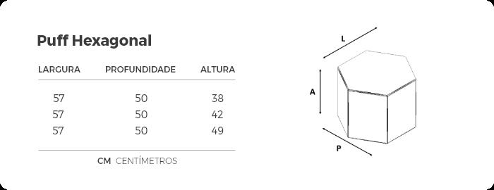 Puff Estofado - Vila Nobre Estofados